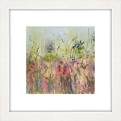 Buy Sue Fenlon - Summer Hedgerow Framed Print, 35 x 35cm Online at johnlewis.com