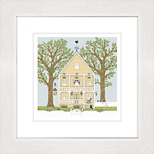 Buy Sally Swannell - Summer House Framed Print, 37 x 37cm Online at johnlewis.com