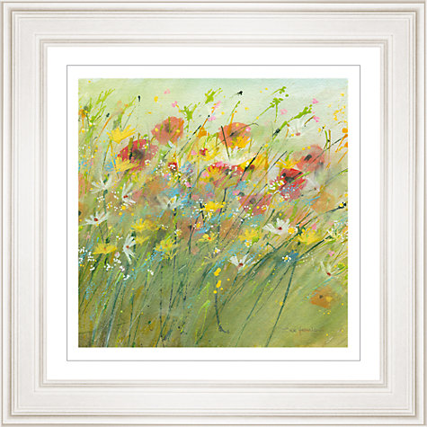 Buy Sue Fenlon - Summer Poppies Framed Print, 68 x 68cm Online at johnlewis.com