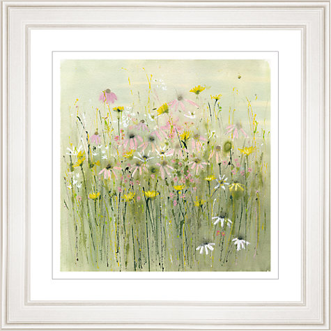 Buy Sue Fenlon - Wild Flower Meadow Framed Print, 83 x 83cm Online at johnlewis.com