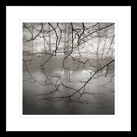 Buy David Purdie - Mist Over Pond Framed Print, 62 x 62cm Online at johnlewis.com