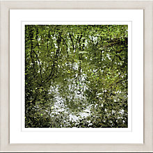 Buy David Purdie - Pond Framed Print, 65 x 65cm Online at johnlewis.com