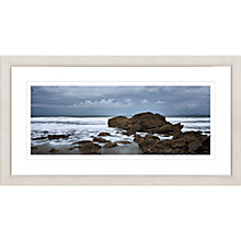 Buy David Purdie - Wales Rock Framed Print, 47 x 87cm Online at johnlewis.com