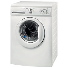 Buy Zanussi ZWG6100K Slimdepth Washing Machine, 6kg Load, A+ Energy Rating, 1000rpm Spin, White Online at johnlewis.com