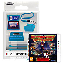 Buy Rhythm Thief and the Emperor's Treasure, 3DS with Stylus Pack Online at johnlewis.com