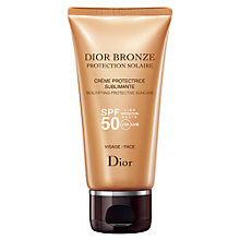 Buy Dior Dior Bronze Beautifying Protective Suncare SPF 50 - Face, 50ml Online at johnlewis.com