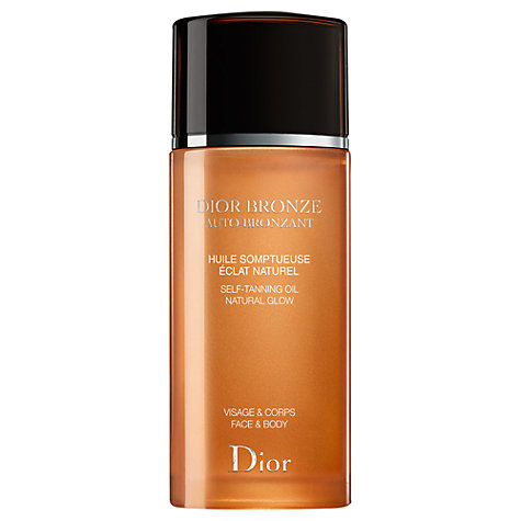 Buy Dior Dior Bronze Self Tanning Oil Natural Glow - Face & Body, 100ml Online at johnlewis.com