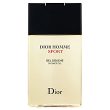 Buy Dior Dior Homme Sport Shower Gel, 150ml Online at johnlewis.com