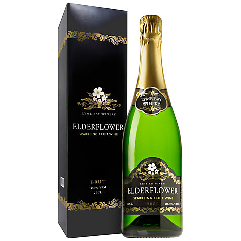 Buy Lyme Bay Wines Elderflower Sparkling Wine, 750ml Online at johnlewis.com