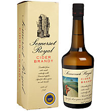 Buy Lyme Bay Somerset Cider Brandy 3 Year Old, 750ml Online at johnlewis.com