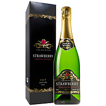 Buy Lyme Bay Strawberry Sparkling Wine, 750ml Online at johnlewis.com