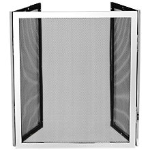 Buy John Lewis Folding Fire Screen, Chrome Online at johnlewis.com