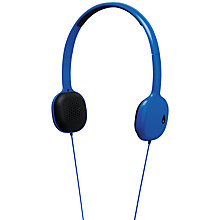 Buy Nixon 'The Loop' On-Ear Headphones, Royal Online at johnlewis.com
