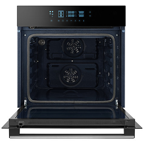 Buy Samsung BQ2Q7G078 Dual Cook Electric Single Oven, Black Glass Online at johnlewis.com