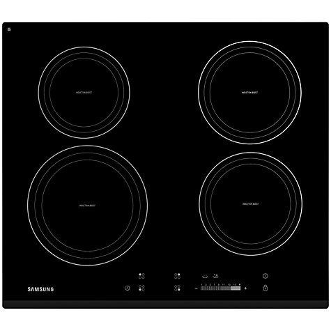 Buy Samsung CTN464KB01 Induction Hob, Black Online at johnlewis.com