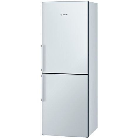 Buy Bosch KGN30VW20G Fridge Freezer, A+ Energy Rating, 60cm Wide, White Online at johnlewis.com