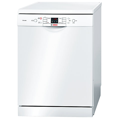 Buy Bosch SMS40C12GB Dishwasher, White Online at johnlewis.com