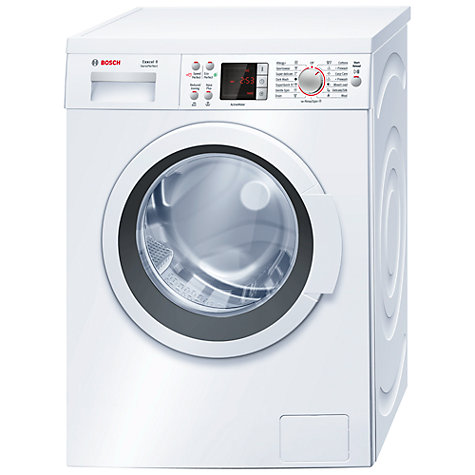 Buy Bosch Exxcel WAQ28461GB Washing Machine, 8kg Load, A+++ Energy Rating, 1400rpm Spin, White Online at johnlewis.com