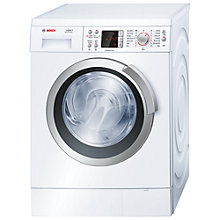 Buy Bosch Logixx WAS32462GB Freestanding Washing Machine, 9kg Load, A+++ Energy Rating, 1600rpm Spin, White Online at johnlewis.com