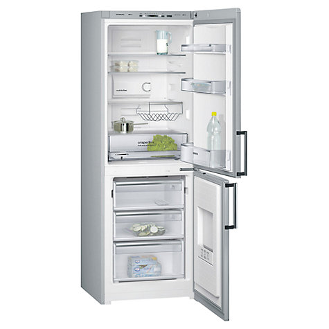 Buy Siemens KG30NVI20G Fridge Freezer, Stainless Steel Online at johnlewis.com