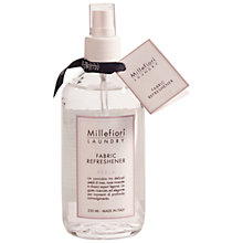 Buy Millefiori Milano Fabric Spray, Perla, 250ml Online at johnlewis.com