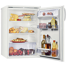 Buy Zanussi ZRG716CW Larder Fridge, A+ Energy Rating, 55cm Wide, White Online at johnlewis.com