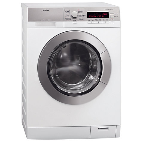 Buy AEG L87695WD Washer Dryer, 9kg Wash/7kg Dry Load, A Energy Rating, 1600rpm Spin, White Online at johnlewis.com