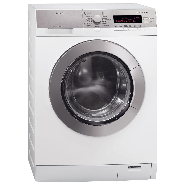 AEG L87695WD 9kg Wash 7kg Dry Freestanding Washer Dryer - White
