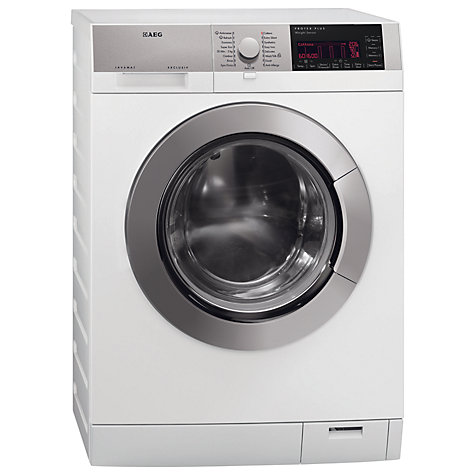 Buy AEG L98699FL Washing Machine, 9kg Load, A+++ Energy Rating, 1600rpm Spin, White Online at johnlewis.com