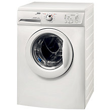 Buy Zanussi ZWG6120K Slimdepth Freestanding Washing Machine, 6kg Load, A+ Energy Rating, 1200rpm Spin, White Online at johnlewis.com