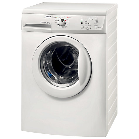 Buy Zanussi ZWG6120K Slimdepth Washing Machine, 6kg Load, A+ Energy Rating, 1200rpm Spin, White Online at johnlewis.com