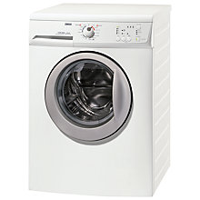 Buy Zanussi ZWG6144PS Washing Machine, 6kg Load, A+ Energy Rating, 1400rpm Spin, White Online at johnlewis.com