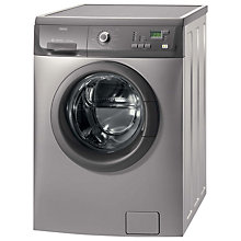 Buy Zanussi ZWF14380G Washing Machine, 7kg Load, A+ Energy Rating, 1400rpm Spin, Graphite Online at johnlewis.com