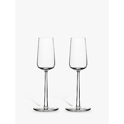 Iittala Essence Champagne Flutes, 0.21L, Set of 2