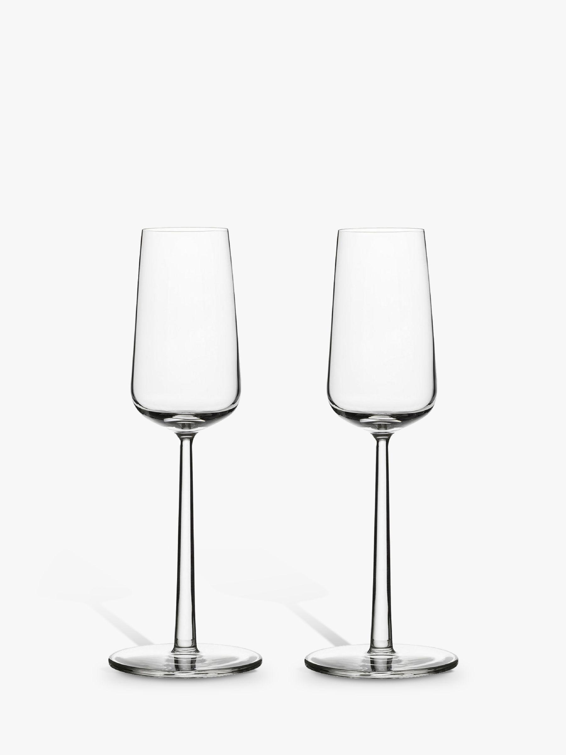 Iittala Iittala Essence Champagne Flutes, 0.21L, Set of 2