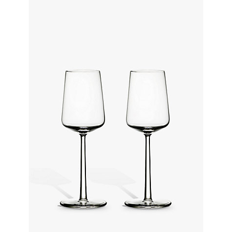 Buy Iittala Essence White Wine Glasses, 0.33L, Set of 2 Online at johnlewis.com
