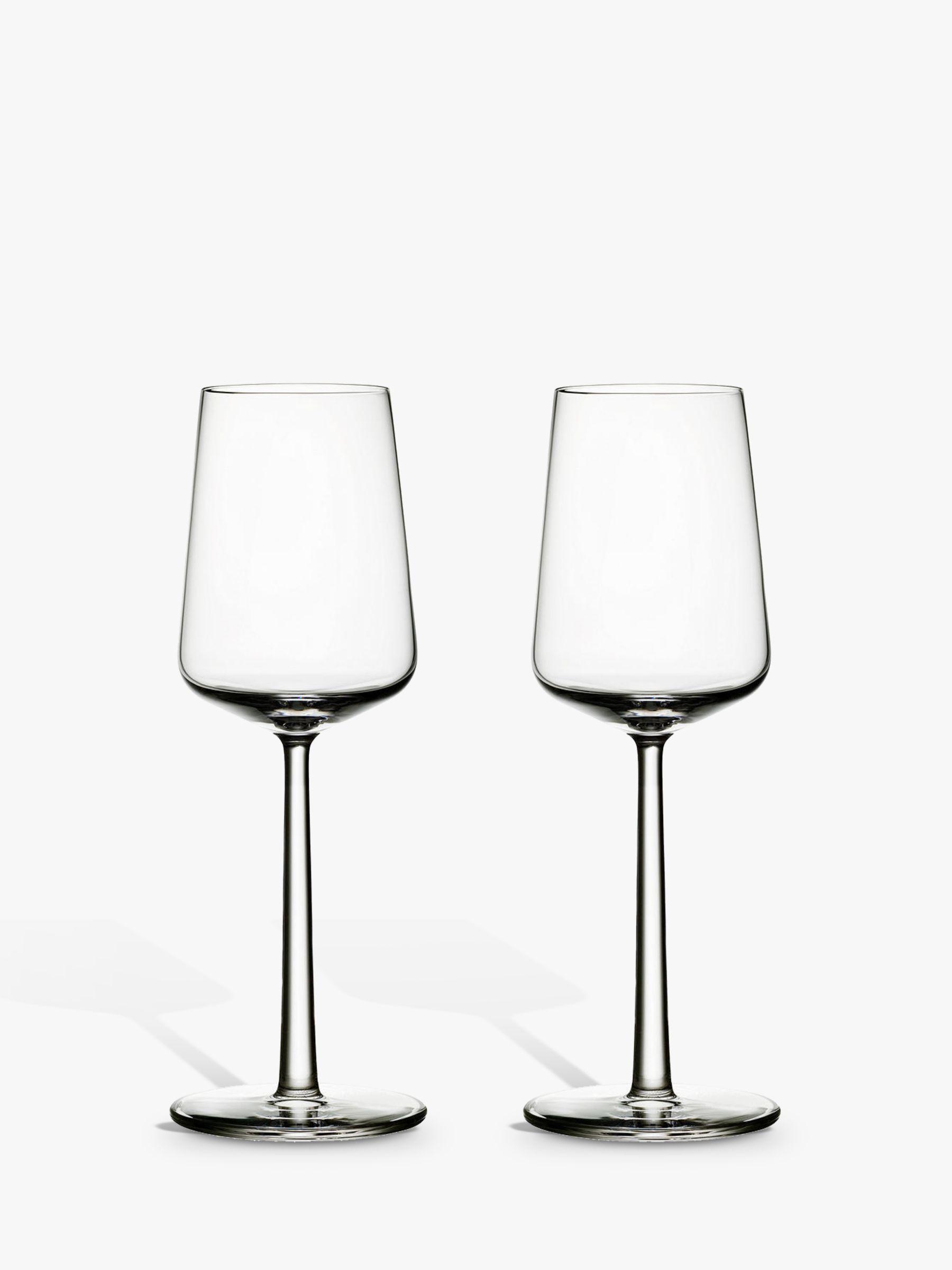 Iittala Iittala Essence White Wine Glasses, 0.33L, Set of 2