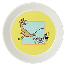 Buy Finland Arabia Moomin Plate, Running Online at johnlewis.com