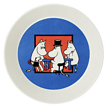 Buy Finland Arabia Moomin Plate, Together, Dia.19cm Online at johnlewis.com