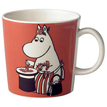 Buy Finland Arabia Moomin Mug, Moominmamma and Berries Online at johnlewis.com