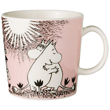Buy Moomin Mug, Pink Love Online at johnlewis.com