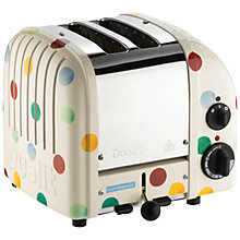 Buy Dualit Emma Bridgewater NewGen Toaster, 2-Slice, Polka Dots Online at johnlewis.com