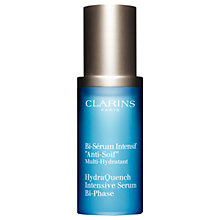 Buy Clarins HydraQuench Intensive Serum Bi-Phase, 30ml Online at johnlewis.com