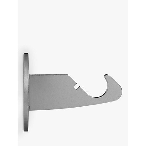 Buy John Lewis Stainless Steel Side Bracket, Dia.19mm Online at johnlewis.com