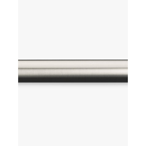 Buy John Lewis Stainless Steel Curtain Pole, L120cm x Dia.25mm Online at johnlewis.com
