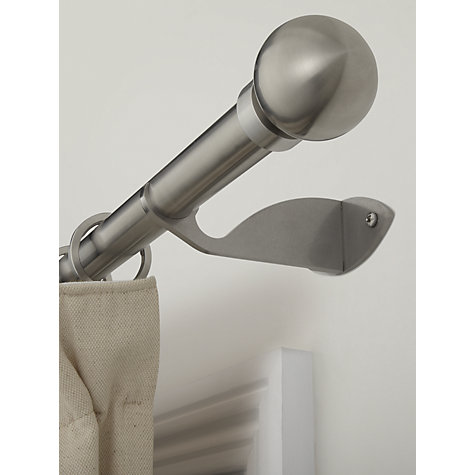 Buy John Lewis Stainless Steel Passing Bracket, Dia.25mm Online at johnlewis.com