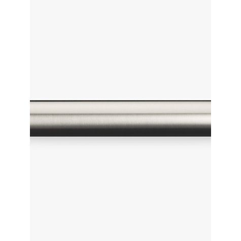 Buy John Lewis Stainless Steel Curtain Pole, L180cm x Dia.30mm Online at johnlewis.com
