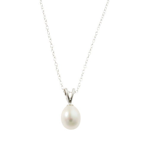 Buy A B Davis Sterling Silver Multi-Pearl Drop Stud Earrings and Pendant Necklace Set Online at johnlewis.com