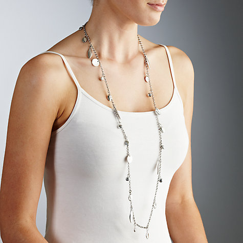 Buy Collection WEEKEND by John Lewis Bea Long Metal Necklace Online at johnlewis.com