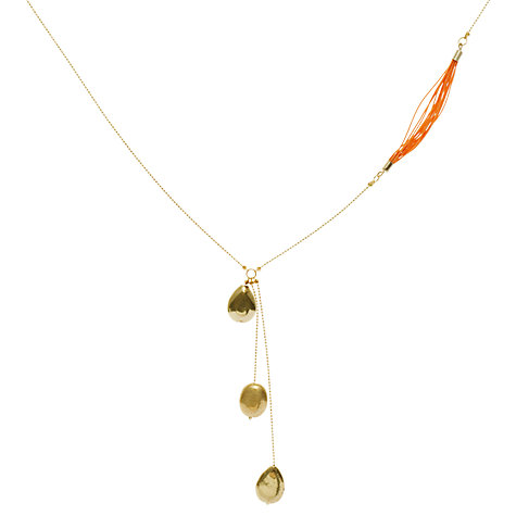 Buy Collection WEEKEND by John Lewis Willow Drop Bead Necklace Online at johnlewis.com
